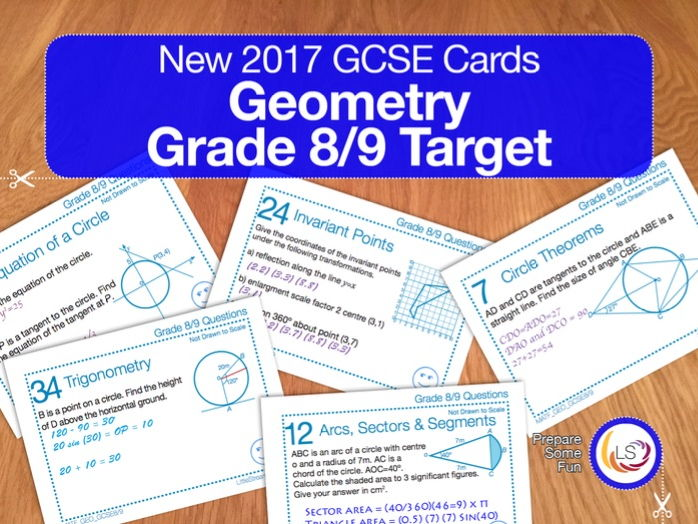 Geometry - New 9-1 GCSE Maths Grade 8/9 target