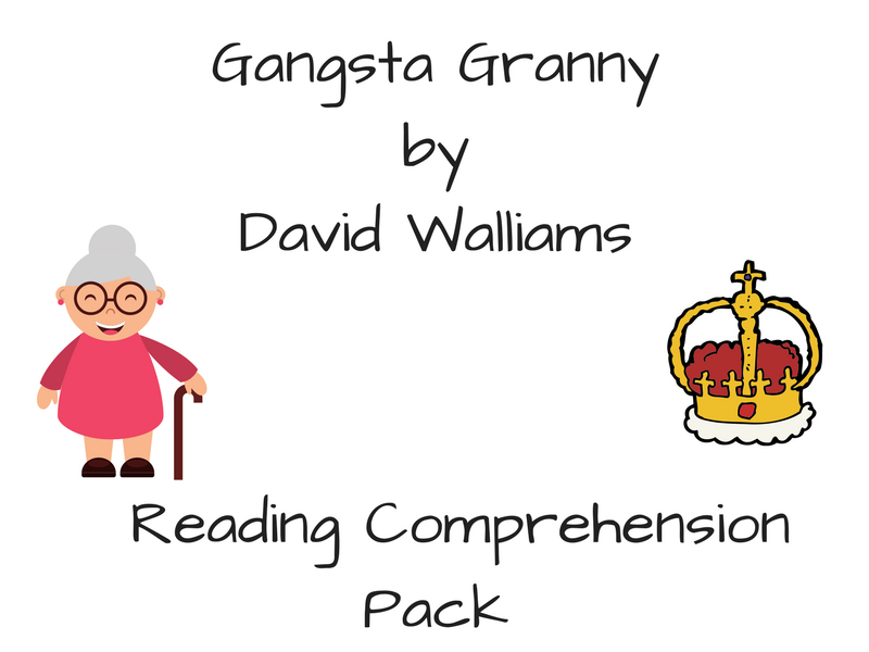Gangsta Granny - Activity Pack