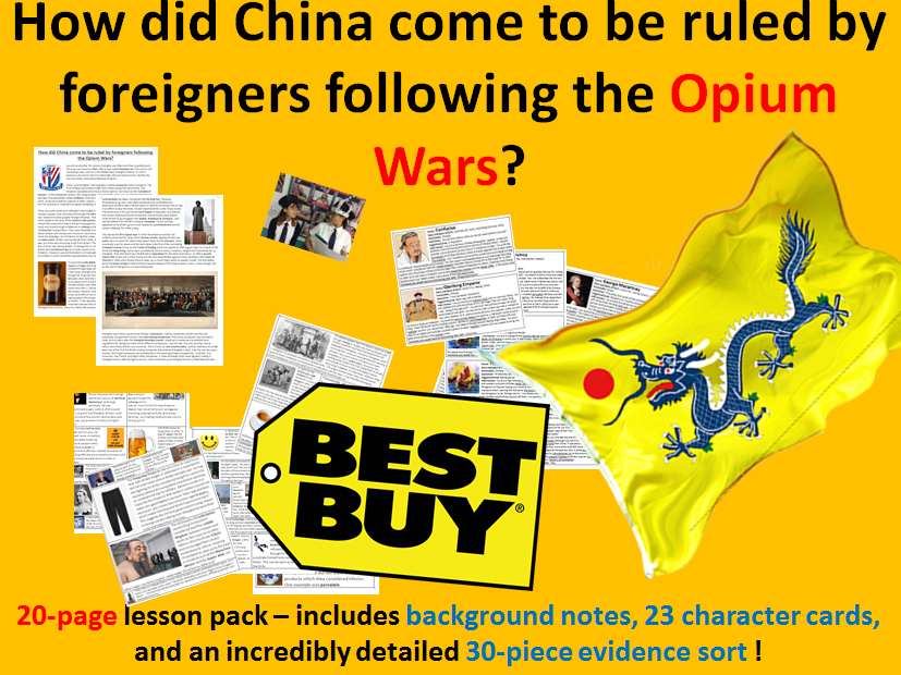 Opium Wars' Impact - 20 page lesson pack