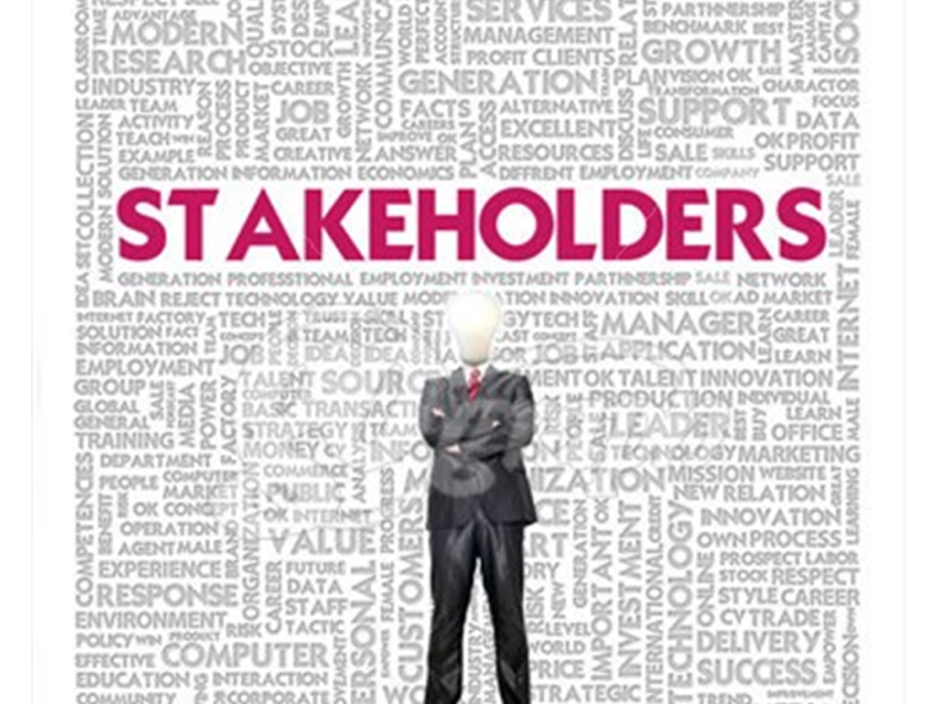 Agenda, minutes and stakeholders