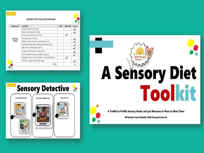 A Sensory Diet Toolkit (4 - 11yrs)