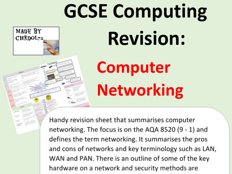 GCSE Computing Revision: Computer Networking