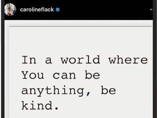 AQA Paper 2 question 5 - Caroline Flack - kindness