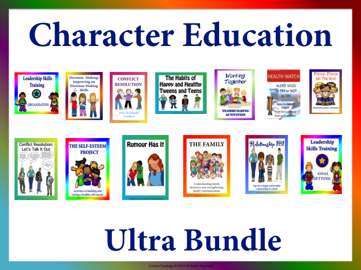 Character Education Ultra Bundle