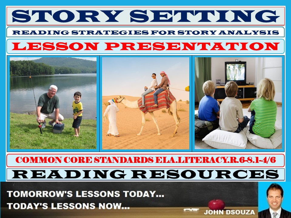STORY SETTING LESSON PRESENTATION