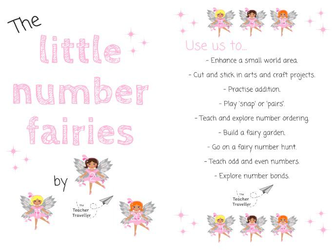 Little Number Fairies