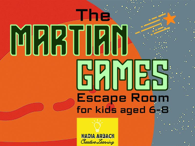 The Martian Games - Escape Room Activity