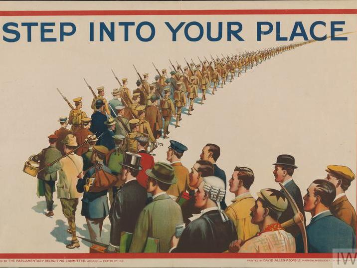 First World War Recruitment Posters