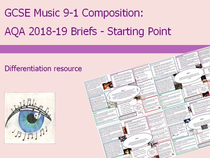 AQA Music GCSE 9-1 Composition Briefs 2018-2019: Starting Point