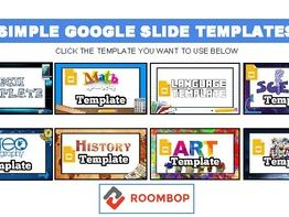 Simple Google Slide Theme Templates