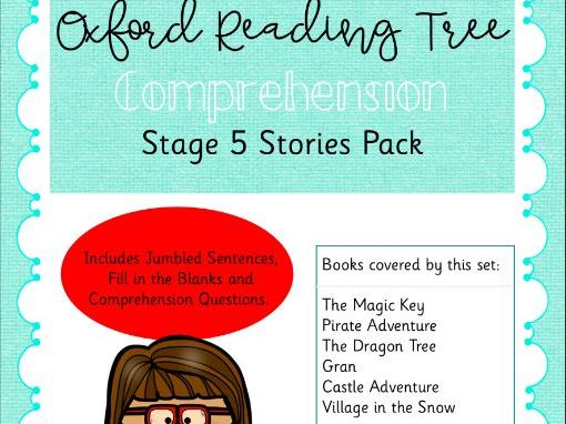 ORT - Oxford Reading Tree Stage 5 Comprehension Pack