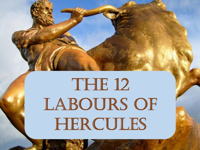 Myths and Heroes : The 12 labours of Hercules - THE NEMEAN LION