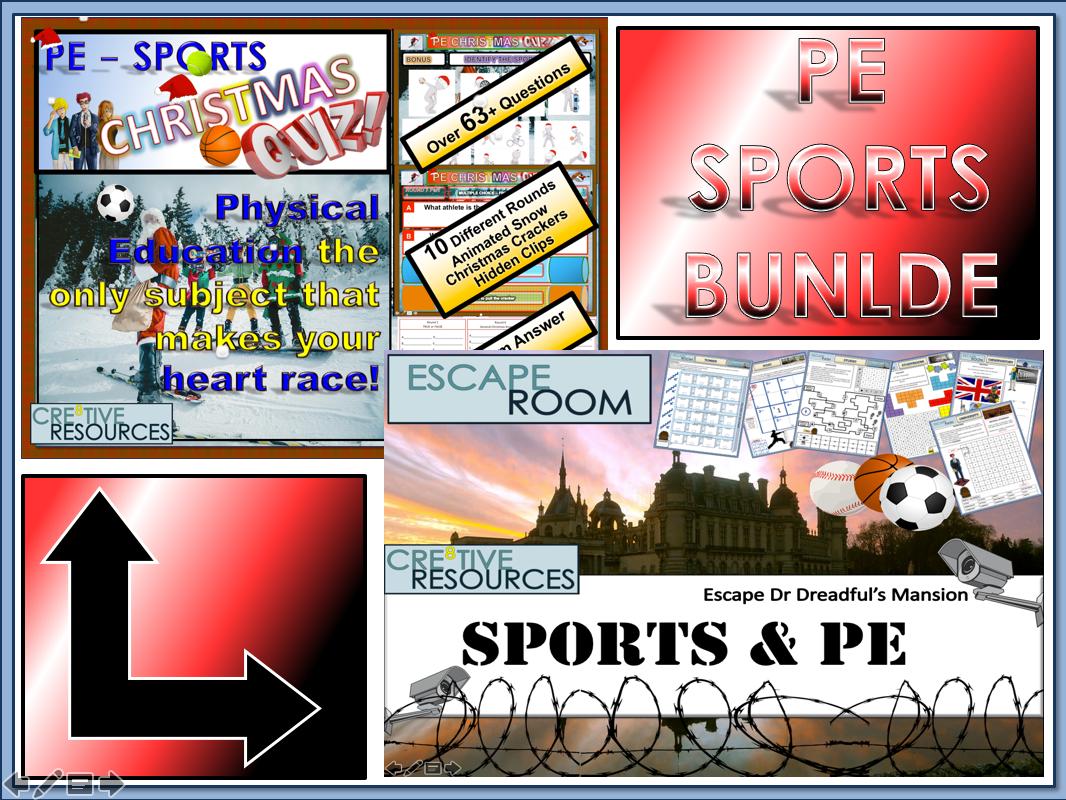 Sport + PE + Christmas