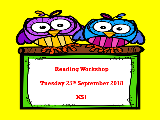 Parent Workshop: Supporting Reading