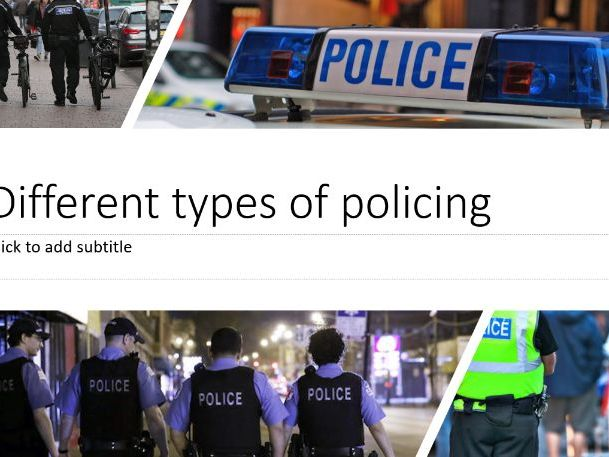 Police - Criminology - Policing - 32 resources! Power-Points, Reading, Revision, Worksheets and more