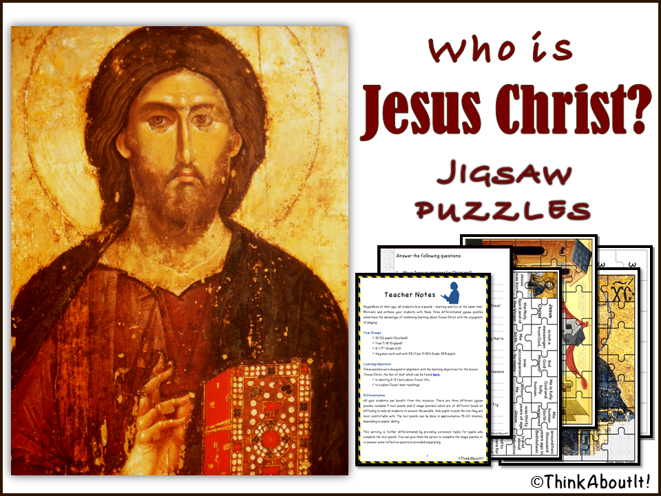Christianity: Who is Jesus Christ? - Jigsaw Puzzles