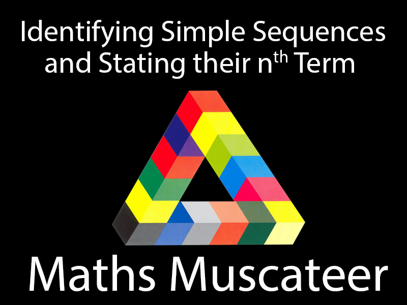Identifying simple sequences and finding their nth term