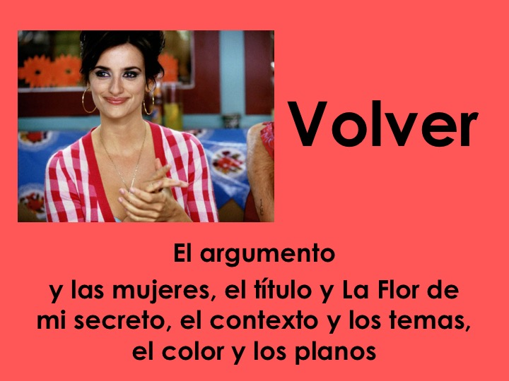 A-Level Spanish Volver Bundle