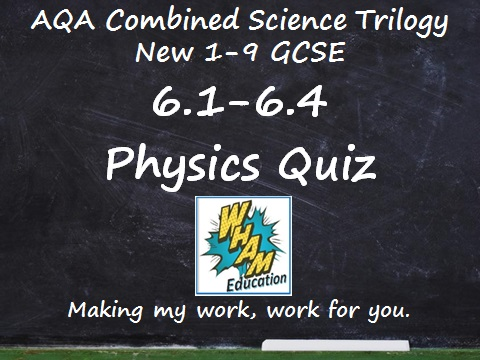 AQA Combined Science Trilogy: 5.1-5.4 Chemistry Quiz