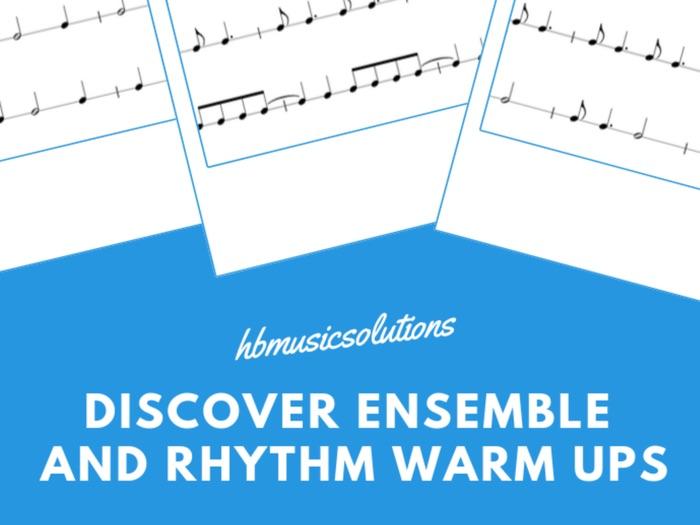 Discover Music, Rhythm and Ensemble Warm Ups