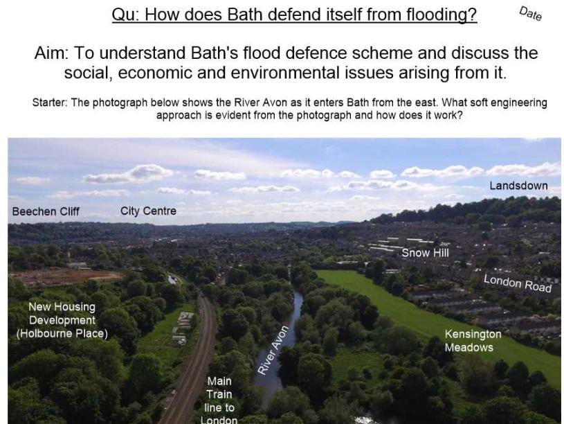 Bath Flood Defences - The Scheme