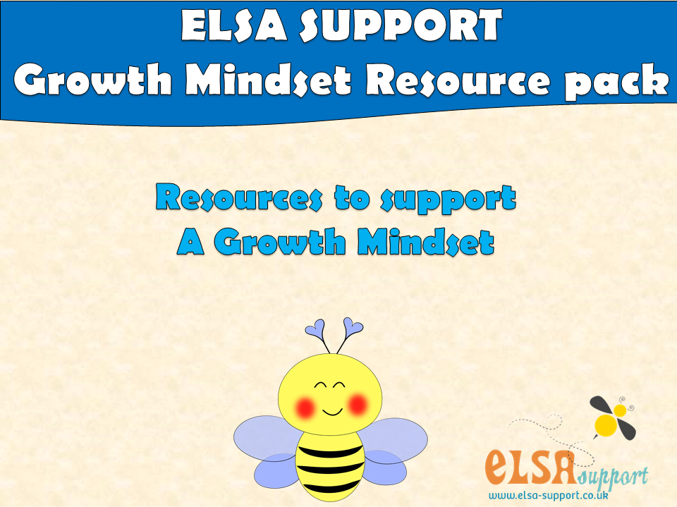 ELSA  SUPPORT GROWTH MINDSET  RESOURCE PACK