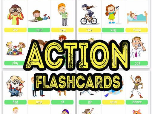 ACTION FLASHCARDS