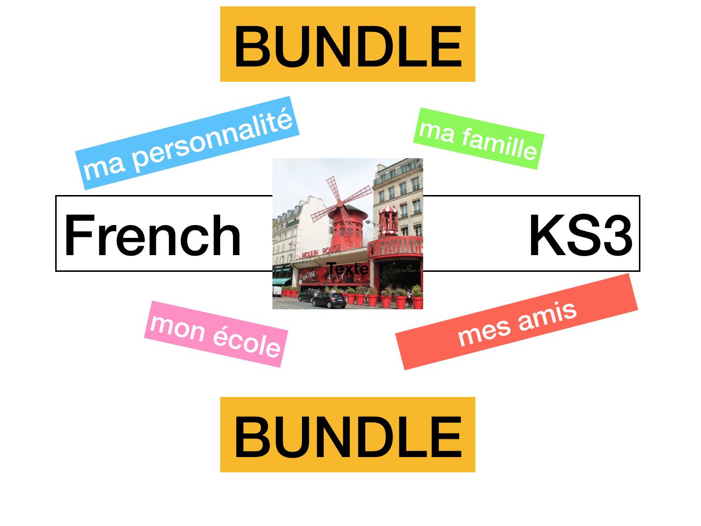 KS3 - French Allez 1 Mon monde perso (2.1 - 2.2 - 2.3 - 2.4)