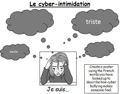 Cyber bulling / Le cyberintimidation