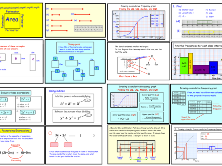 GCSE Revision 1 (notebook)