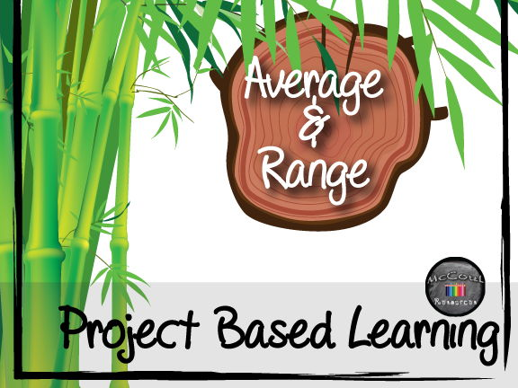 Average & Range: Project Based Learning