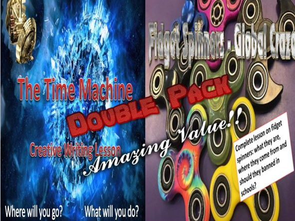 The Time Machine and Fidget Spinners Double Pack with Starters