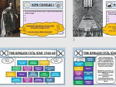 Mini Unit Causes of the English Civil War