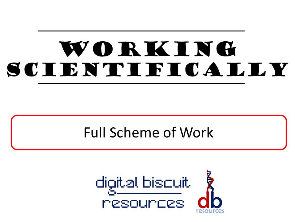 Key Stage 3 - Working Scientifically - Full Scheme of Work