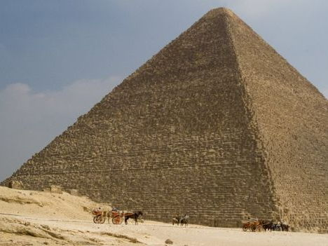 Egyptian Pyramid - reading comprehension