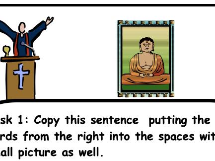 Christianity Buddhism Environment comparison