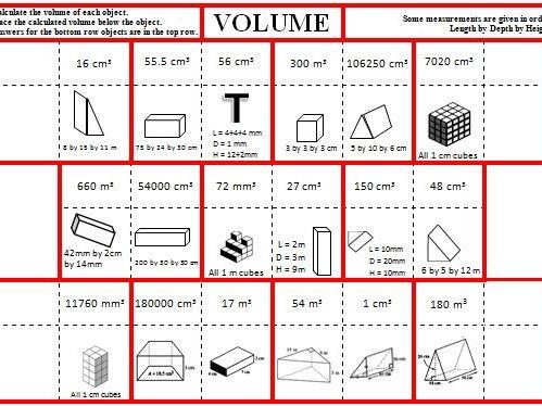 Volume Jigsaw