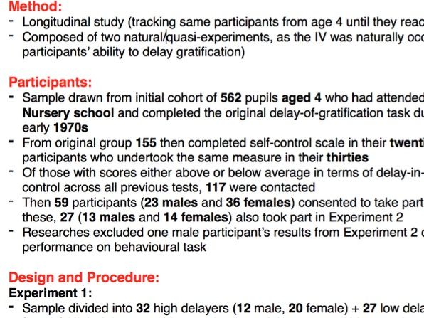 A Level Psychology: Details and evaluation of Casey et al.'s study (core study in biological area)