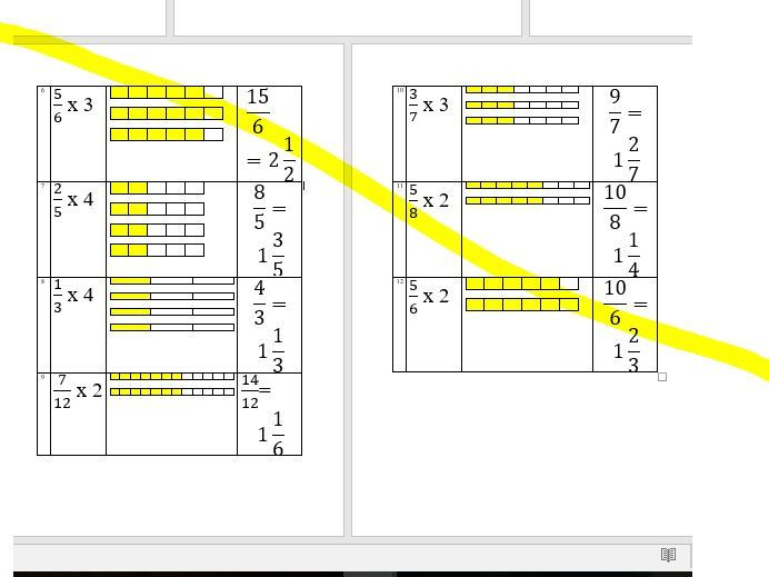 Multiplying proper fractions with integers WHOLE LESSON with PICTURES, engaging for KS2 / KS3