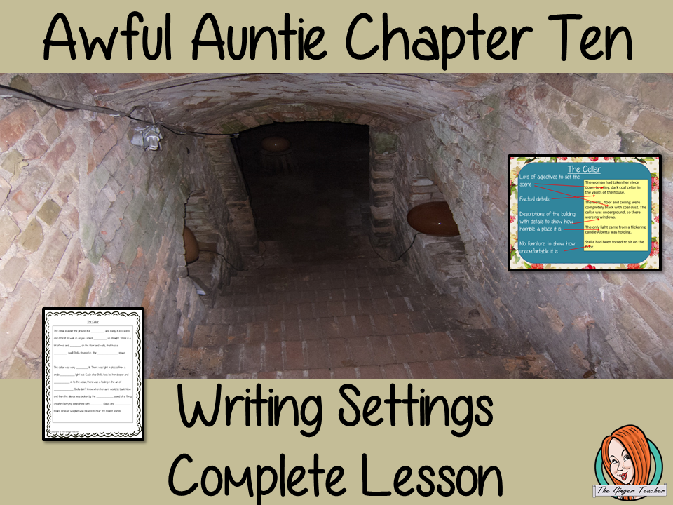 Writing Story Settings English Lesson Awful Auntie