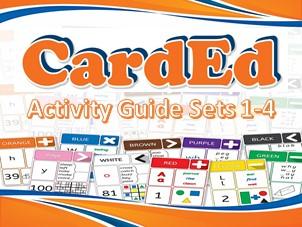 CardEd Bundle (CardEd Sets 1-4 & Comprehensive Activity Guide)