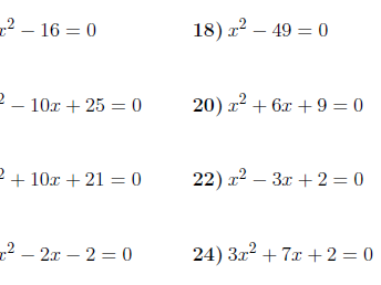 8 GCSE/IGCSE worksheets (with solutions)