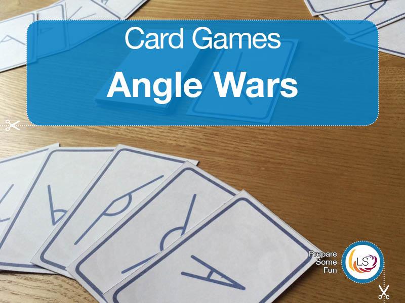 Angle Wars | Measuring Angles Card Game