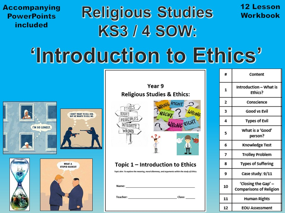 Introduction to Ethics SOW