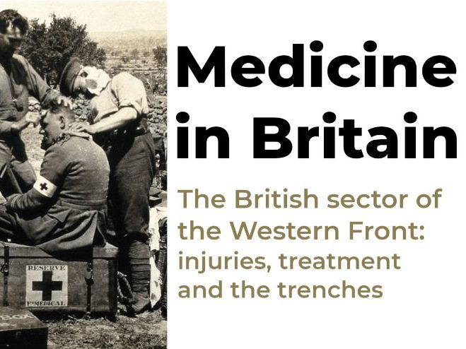 Medicine in Britain: The Western Front