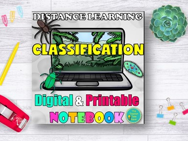 Classification of Living Things Biology Distance Learning Curriculum