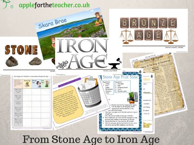 Stone Age Bronze Age & Iron Age Bundle