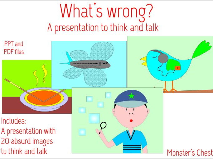 What's wrong presentation. Let's talk.