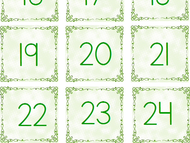 March Calendar Tags