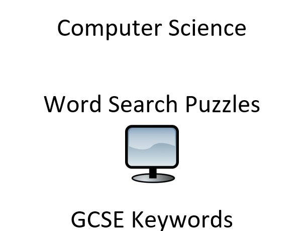 GCSE Starters: Computer Science Keyword Wordsearch Puzzles